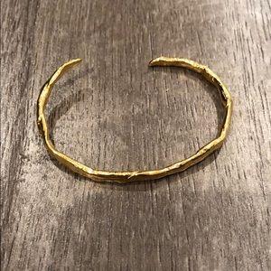 Mr. Kate Gold Twig Cuff Bracelet
